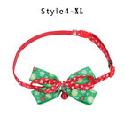 Puppy Christmas Necktie Bowknot Pet Collar Kitten Chain Dog Neck Strap Necklace