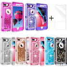 For iPhone X / XS /XR /XS MAX /8/7/6 Shockproof Defender Glitter Quicksand Case
