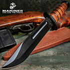 USMC MARINES TACTICAL BOWIE SURVIVAL HUNTING KNIFE MILITARY Combat Fixed Blade