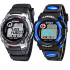 Kids Sports Digital Watch LED Waterproof Watches Xmas Gift for Child Boys Girls image