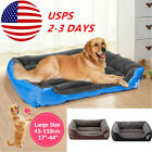 Pet Dog Cat Bed Cushion Large Warm Kennel Dog Mat Sleeping Blanket Winter US