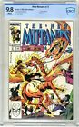 New Mutants   #77  CBCS   9.8   NMMT   White pages  7/89   Direct  Edition