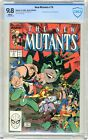 New Mutants   #78  CBCS   9.8   NMMT   White pages  8/89   Direct  Edition