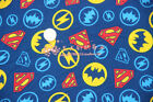 DC Batman Superman Flash Knitted Fabric Soft Quilting Fabric Diy Child clothes