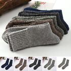 5 10 Pairs Men Warm Winter Autumn Thick Wool Hiking Running Dress Socks Thermal