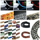 Wholesale 4mm/6mm/8mm/10mm DIY Jewelry Round Glass Loose Spacer Beads Findings