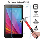 Premium Tempered Glass Screen Cover Protection Case For Huawei Tablet  7 8 inch