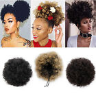 Внешний вид - Fashion Afro Ponytail Puff Drawstring Wrap Synthetic Curly Hair Bun Updo Chignon
