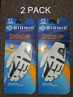2 Pack Bionic Golf Glove StableGrip Men & Women Right & Left Hand Stable Grip