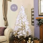 5'/6'/7'/8' Christmas Home Artificial Tree with ith Durable Home Yard Decor US