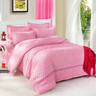 Pink Dot Girl Single Double Queen King Bed Set Pillowcase Quilt Duvet Cover RAUt