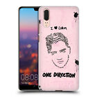 OFFICIAL ONE DIRECTION TEXT ILLUSTRATION FACES BACK CASE FOR HUAWEI PHONES 1