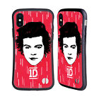 OFFICIAL ONE DIRECTION GRAPHIC FACE HARRY HYBRID CASE FOR APPLE iPHONES PHONES