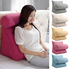 Back Wedge Cushion Adjustable Bed Sofa Office Neck Waist Lumbar Soft Pillow Usa