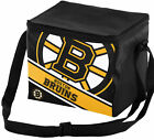 Forever Collectibles 6 Can NHL Big Logo Stripe Picnic Cooler