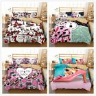 3D Red Lips High-heeled Shoes Bedding Set Duvet Cover Comforter Cover Pillowcase image