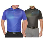 2018 PGA Tour Overlayed Dimensional Printed Golf Polo NEW