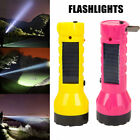 Portable 2 in 1 LED Light Solar Emergency Flashlight Lamp with Charging Plug for