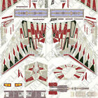 -Klingon D-7 / K'tinga Hi-Resolution Decal Patterns!, 38 JPG files, via e-mail.-