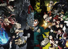 My Hero Academia Poster Boku no hero Group High Grade Glossy Laminated