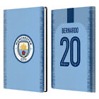 MAN CITY FC 2018/19 PLAYERS HOME KIT GROUP 1 WHITE GREY LEATHER PASSPORT HOLDER