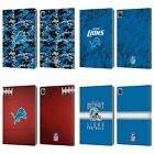 OFFICIAL NFL 2018/19 DETROIT LIONS LEATHER BOOK WALLET CASE COVER FOR APPLE iPAD $24.46 USD on eBay