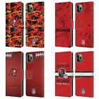 NFL 2018/19 TAMPA BAY BUCCANEERS LEATHER BOOK CASE FOR APPLE iPHONE PHONES