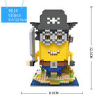 Minions 3D LOZ Building Blocks Educational Toy Cartoon Assembly Gift UK