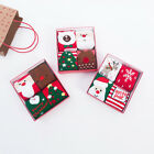 4Pcs Kids Christmas Socks with Gift Bag Thicken Baby Sock Autumn and Winter Warm