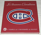 LES ILLUSTRES CANADIENS Book New Sealed Hardcover MONTREAL HABS HOCKEY 100th ANN