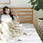 Tassel Knitted Shawl Blanket Soft Solid Color Air conditioning Blanket Office image