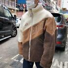 Winter New Faux Lamb Fur Jacket Men's Youth Loose Thick Warm Cotton Coat New Hot