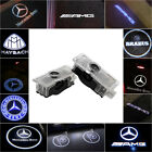 Fit Mercedes Benz Cree Led Projector Car Door Lights Shadow Puddle Courtesy Logo