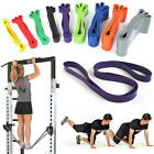 Heavy Duty Resistance Band Loop Power Gym Fitness Exercise Yoga Workout Pilates image