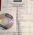 RADIO SHOW: OFF THE RECORD CLASSIC 7/7/07 GENESIS TRIBUTE 9 TUNES/INTERVIEWS