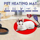 30cm Pet Dog Cat Electric Heating Pad Soft Heater Warmer Mat Bed Blanket Envy