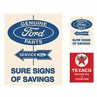 Sign of the Times 12 x 15 Hanging Vintage Metal Sign