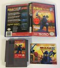 Ninja Gaiden III: The Ancient Ship of Doom NES + Original cut Box + Manual