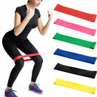 Resistance Exercise 600mm Loop Bands Home Gym Fitness Premium Natural Latex