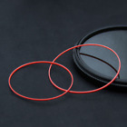 78PCS/Set 0.9mm Height Big Size Red Watch Case Back Gasket O Ring for Tisot