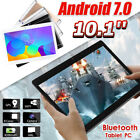 64GB+4G Android 7.0 Tablet PC Octa 8 Core HD WIFI bluetooth 2 SIM 4G 10.1'' USA