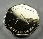 PINK FLOYD DARK SIDE OF THE MOON Silver Commemorative Coin Albums/50p Collectors