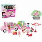 LOL SURPRISE SNACK VAN CAR DOLL CAMPER ACTION FIGURINES PRETEND PLAYSET KID TOY