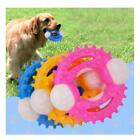 Dog Toys for Aggressive Chewers,Pet Chew Toys Ring Ball for Puppy Dogs
