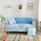 Spandex Stretch Sofa Covers Couch Protector for 1 2 3 4 seater rust Hot Balloon
