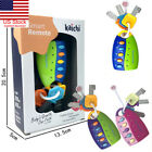US Baby Car Key kids Musical Keys Baby's Sound and Light Pretend Toy Keychain HR