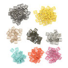 4MM Diy ultra-small Japanese Word Belt Buckle For bjd blyth doll shoes accessory