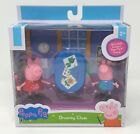 Jazwares Peppa Pig DRAWING CLASS playset George figure 3 pieces Christmas gift