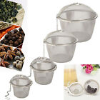 Practical-Tea-Ball-Spice-Strainer-Mesh-Infuser-Filter-Stainless-Steel-Herbal-New