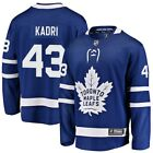 Nazem Kadri Toronto Maple Leafs Fanatics Branded Breakaway Player Jersey Blue